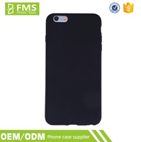 Wholesale Customized Blank Black Soft TPU Cellphone Case For Iphone