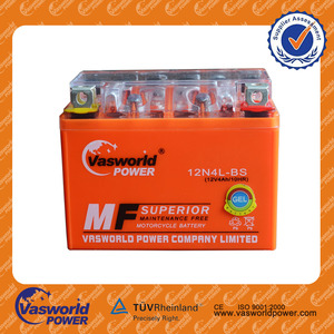 The Most Famous Gel Mf 12V 4Ah Motorcycle Battery From Chinese Manufacturer