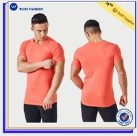 Custom gym running t shirt wholesale blank t shirts manufacturers china short sleeve latest shirt designs for men 2016