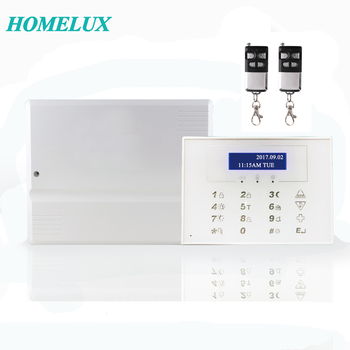 Android IOS APP control wireless & wired home business security GSM PSTN intruder alarm system