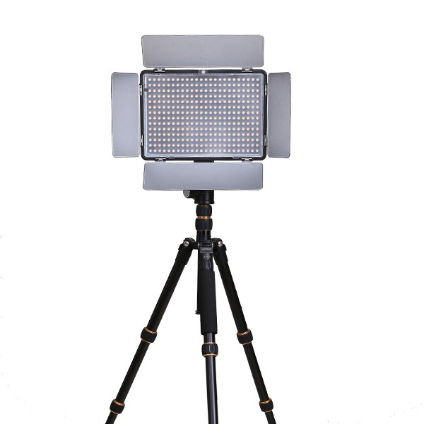 2016 Ajustable Led Video Light with silent touch &LCD display