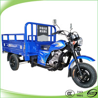 cheap 150 cc covered 3 wheel trikes cargo tricycle with tarpaulin