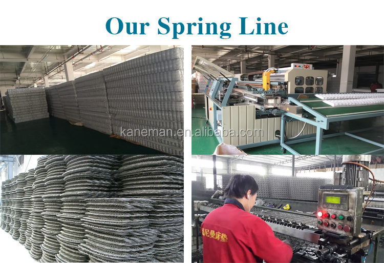 Made in China factory wholesale price 10inch queen king size cheap chinese spring mattress - Jozy Mattress   Jozy.net