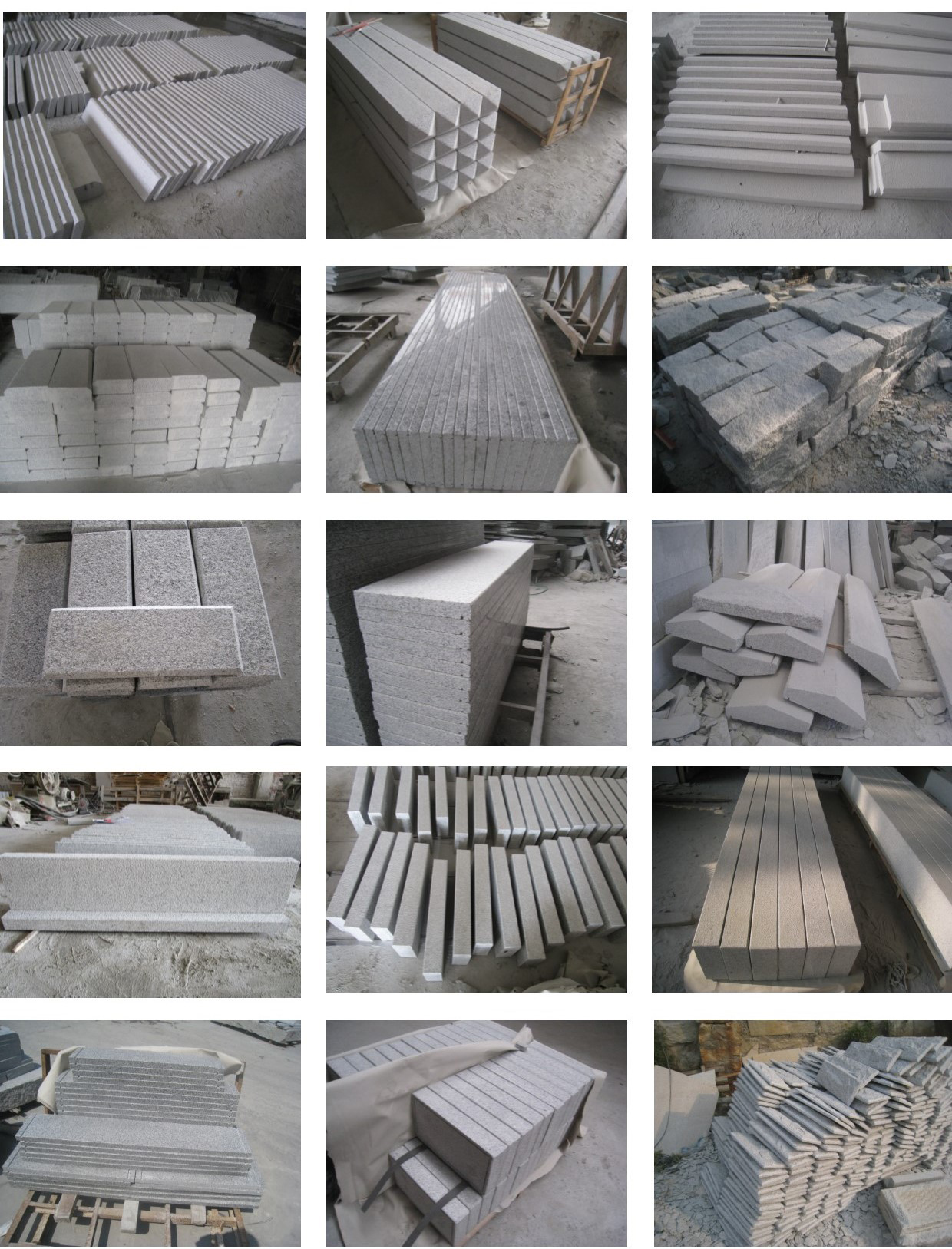 Factory-direct-supply China Hubei G603 Grey Granite Floor Tiles