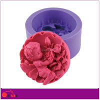 Silicone Rubber for Candle Decors Mold Making