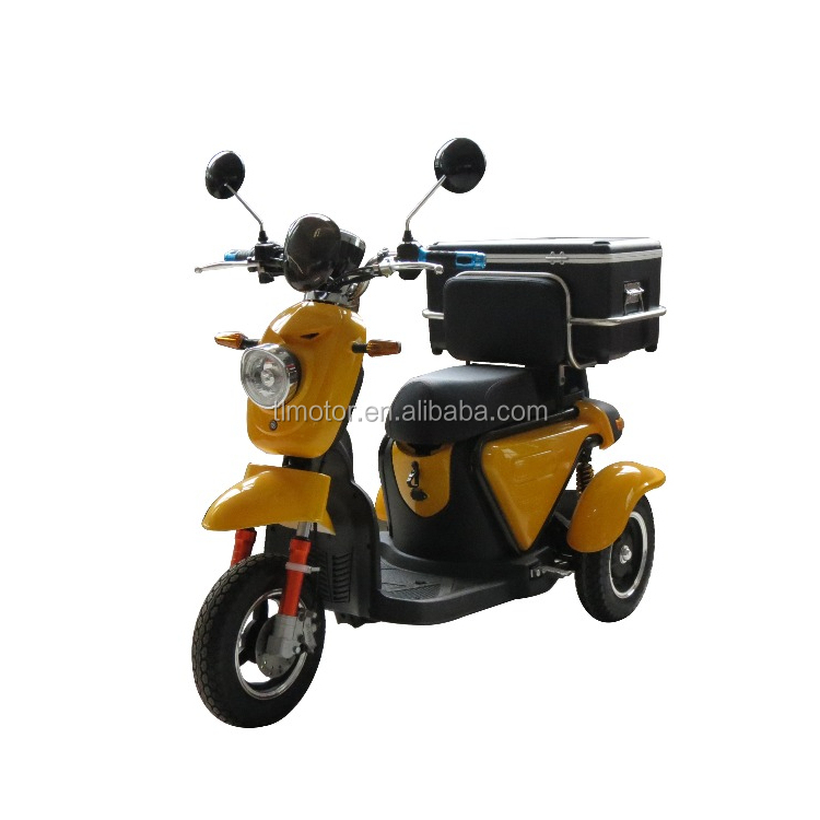 3 wheel motorcycle cargo tricycle mini electric scooter motorcycle for sale