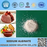 food chemicals sodium alginate as gelatinization for gel foods