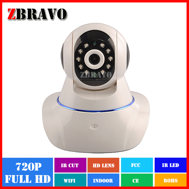 Cheap Price H.264 Full HD 720P 1M pixel wireless WIFI Robot ip <strong>camera</strong> P2P Pan/tilt Home Security IP <strong>camera</strong> PTZ <strong>Camera</strong>