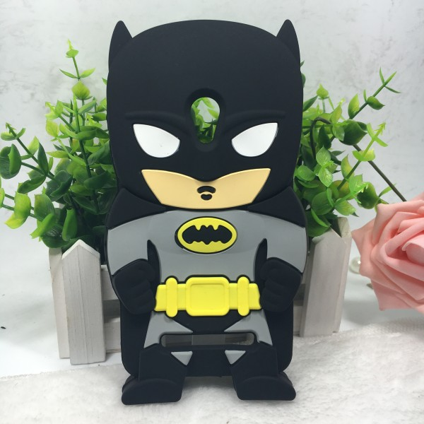 3d cartoon batman Silicone clear phone case for asus zenfone 5 five