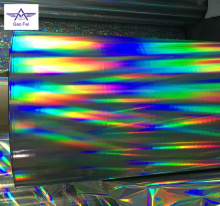 printed bopp film holographic lamination film for packaging