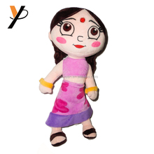 Plush sex doll Soft Toy India Cartoon Indian Girl