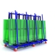 Glass rack transport Moving Cart Slab Granite Steel Truck A-frame Sign Glass A Frame Slab Racks
