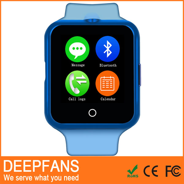 DFC88 bluetooth smart watch phone with touch screen for android os and ios smartphone samsung