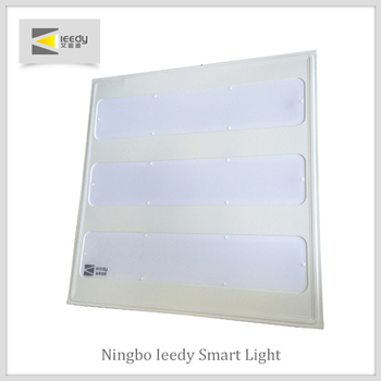 Ningbo square dinning room office led flat ceiling panel mount light 600x600mm 30w