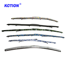 2018 newest car exterior accessories windshield colored double wiper blade