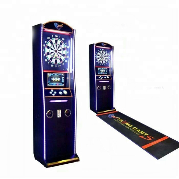 Coin operated arcade fighting darts machine /common version dart game machine