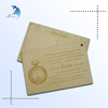 2014 New High Quality Antique Imitation Custom Unique Cool Design Gift Souvenir Wood Carving Printing Post Card
