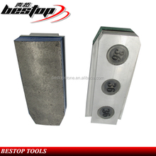 Granite Polishing Tool Aluminum Base Segmented Diamond Grinding Block for Grinding Granite