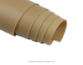 ISO 9001 High Quality 100% Pure Natural Tan/Pure Gum Rubber Sheet