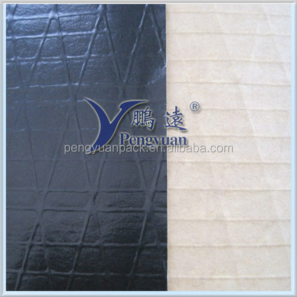 Black PP Aluminum Foil With Glass Yarn Facing