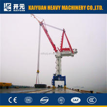 Electric 125 t Port Crane Used Widely in Port, Harbor, Station and Storage-yard.
