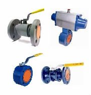 PN40 CARBON STEEL MONOBLOCK BALL VALVES