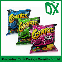 china supplier plastic packaging bag of chips/snacks productions custom printed potato chip bags