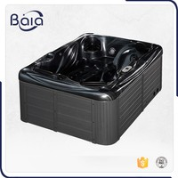 Alibaba china supplier 4 seats freestanding bathtub,corner whirlpool bathtub