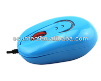 Small Convenient Wired Mini 3D optical mouse M-011