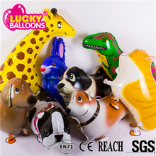 China wholesale balloons EN71approved mylar walking pet animal balloon