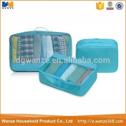Lightweight Polyester Travel Packing Cubes Carry-On Luggage Travel Packing Cubes