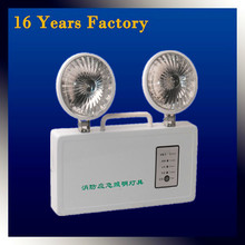 220v exit light led emergency light with ABS material emergency light for channel
