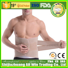 Durable Medical breathable adjustable lumbar belt with splints support extra abdominal support