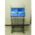 Metal rack for Warmart shopping bags