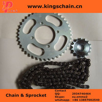 Cheap price natural color reinforced 428 motorcycle chain in colombia