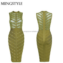 2016 Hot Sales lady evening Cocktail dress , bodycon tight wholesale bandage evening party dresses