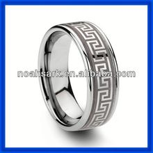 Stainless steel celtic tungsten wedding bands ring for ceremony gift