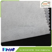 Wholesale100% polyester non woven fusible reinforced interfacing fabric for jacket