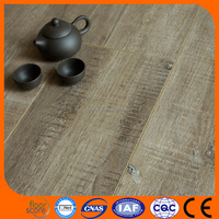 HDF Laminate Flooring, High Quality 8mm/12mm Laminated Wooden Flooring