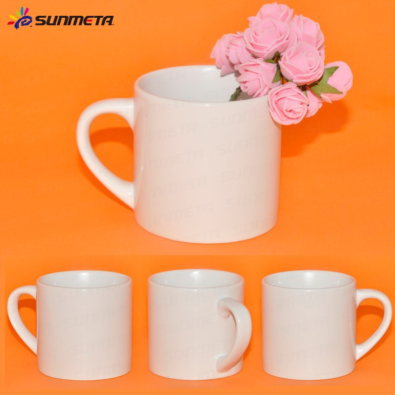 6oz White Sublimation Ceramic Blank Coffee Mugs Wholesale
