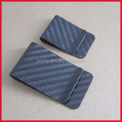 carbon fibre money clip zhong shan manufacturer