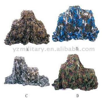 Camouflage nets, optic nets, anti-infrared and anti-radar.Military Camouflage Net