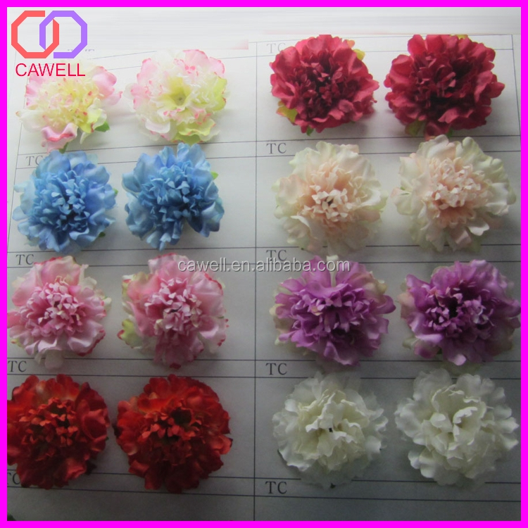 wholesale 50MM artificial flower head silk flower head for clove and hair accessories