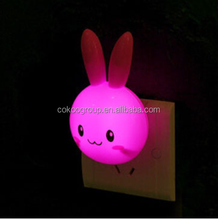 factoty wholesale Toy LED Night Light Rabbit Lamp Color Changing magic fancy led night light Wireless best creative present