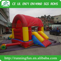 Inflatable jumping bouncer house for toddler with climbing stair jumping inflatable slide