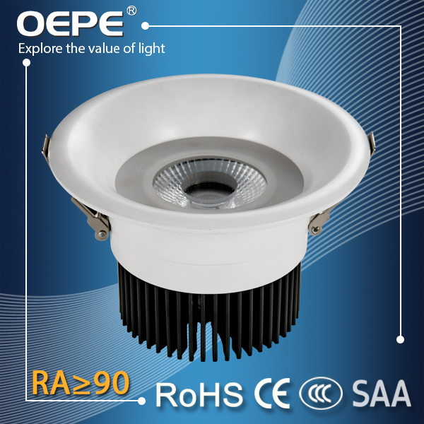 High Power Aluminium Housing Led Down Light Cob 25W Emergency Down Light