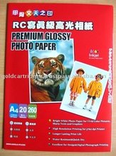 Premium High Glossy Inkjet Photo Paper (Resin Coated)