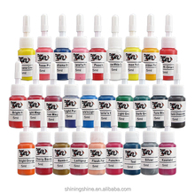 5ml skin candy tattoo ink set include 28 colors