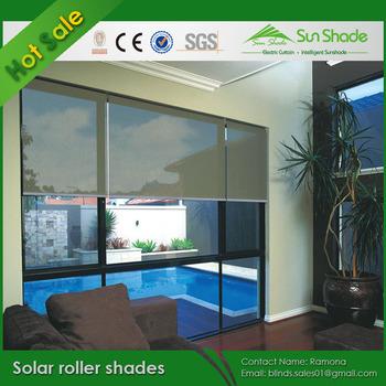 Motorized Solar Roller Shades Buy Solar Roller Shades Motorized Solar Shades Solar Shades