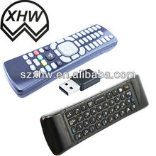 Air mouse remote control with Qwerty keyboard made in China